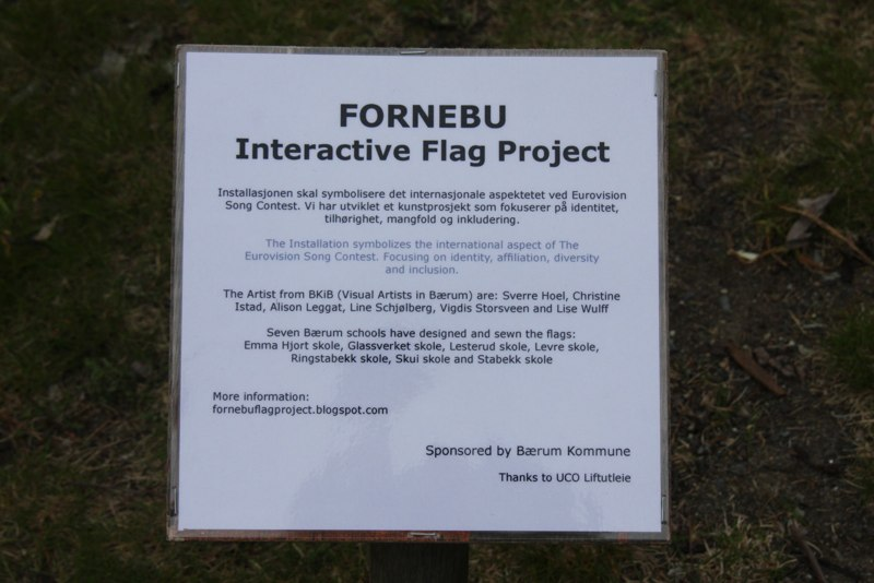 Fornebu Interactive Flag project
