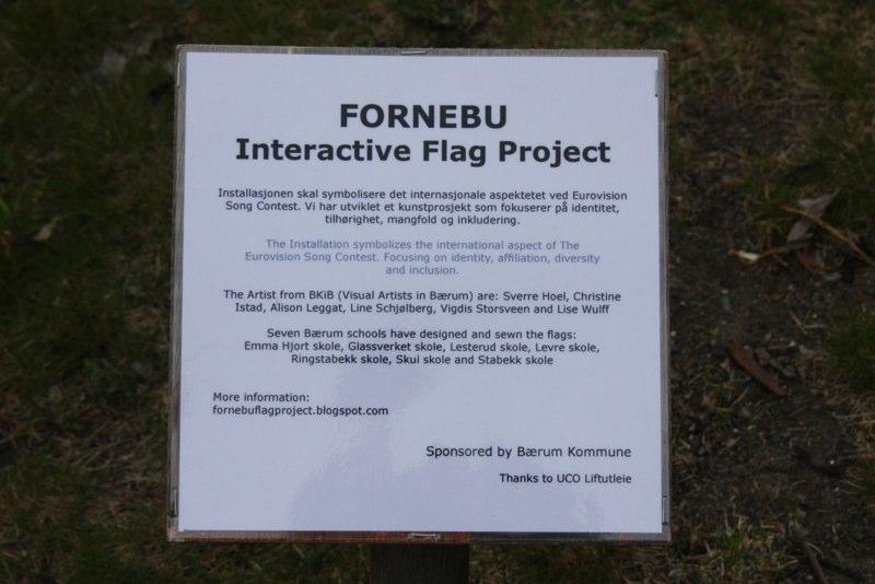 Fornebu Interactive Flag project